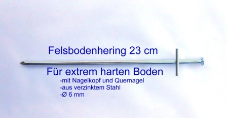 Heringe Zeltnägel Zeltpflöcke Steinbodenhering Felsbodenhering Hering Zelt neu